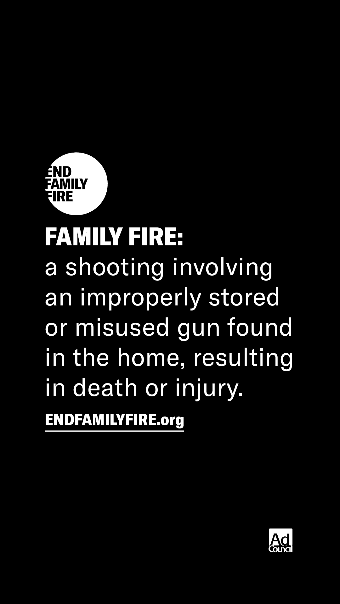 End Family Fire - Definition