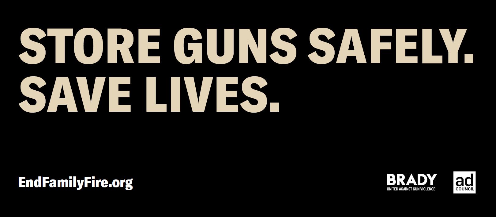 Store Guns Safely